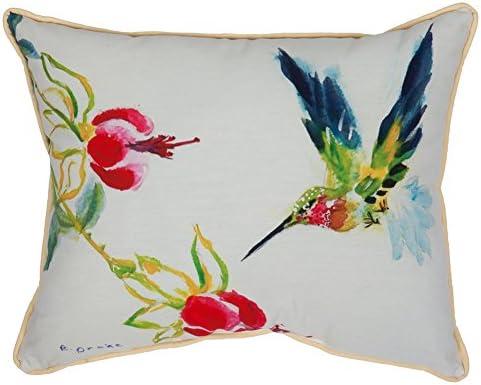 Betsy Drake HJ330 Betsys Hummingbird Art Only Pillow 16×20