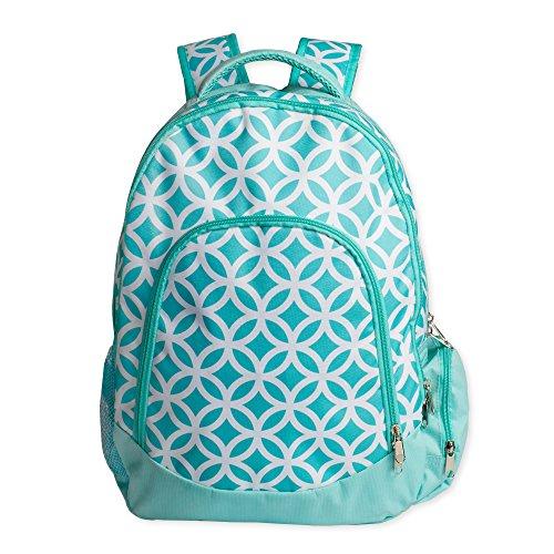 Reinforced Design Water Resistant Backpack (Aqua Sadie)