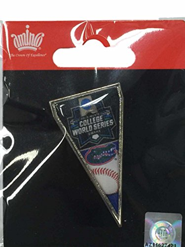 aminco Florida Gators 2016 NCAA Omaha College World Series Pennant Metal Lapel Pin