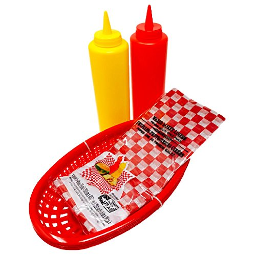 yellow bbq basket liners - 8