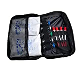 Weekly Diabetic Travel Bag with Shoulder Strap From GMS Holds Two Weeks Supplies/Will Hold Syringes,vials Pens Secure - 2-6oz Cold Pax for 12 Hours of Cold