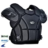 Champro Pro-Plus Umpire Chest Protector Tri-Dri Baseball Softball Black UMP PRO-PLUS UMPIRE CHEST PROTECTOR Black XL16H inches