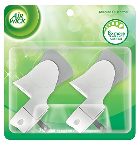 Air Wick Scented Oil Warmers, 2 Twin Packs, 4 Count (Air Wick Plug In)