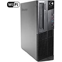 2017 Lenovo ThinkCentre M82 SFF Business Desktop Computer, Intel Quad-Core i5-3470 Processor 3.2GHz (up to 3.6GHz), 12GB RAM, 2TB HDD, DVD ROM, Windows 10 Professional (Certified Refurbished)
