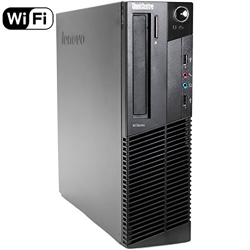 Lenovo ThinkCentre M82 SFF Business Desktop Computer, Intel Quad-Core i5-3470 Processor 3.2GHz (up to 3.6GHz), 12GB RAM…
