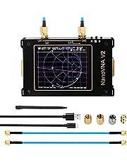 3G Vector Netwerk Analysator, 50KHz-3GHz s-a-a-2 NanoVNA V2 Antenne Analysator Shortwave HF VHF UHF Maatregel Duplexer Filte met 3.2 inch LCD Touchscreen