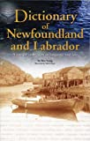 Front cover for the book Dictionary of Newfoundland & Labrador by Ron Young