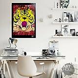 Tiger Mask by Ikki Kajiwara - Pop-Art Original