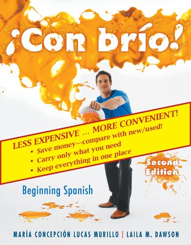 Con brio! 2nd Edition Student Text w/ Audio CDs Binder Ready Version (Spanish Edition)