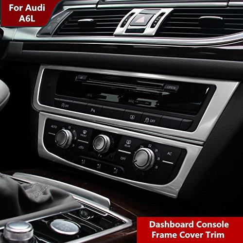 Interior Dashboard Centre Console Panel Cover Trim For Audi A6 C7 2012-2015