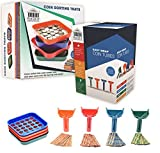 Nadex Color-Coded Coin Sorting Set with Four Coin Sorting Trays and Four Easy
