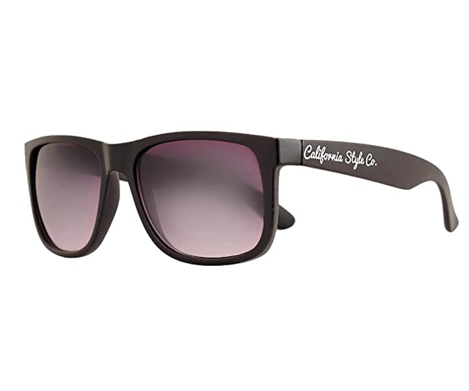California Style Co. CS-CL-BL Gafas de sol, Negra, 135 ...