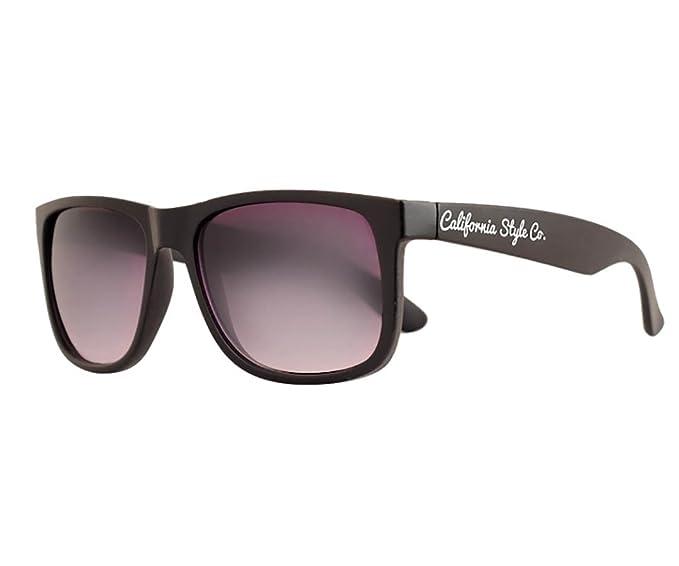 California Style Co. CS-CL-BL Gafas de sol, Negra, 135 ...