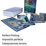 YIWMHE Tarot Cards Deck 79 Cards Full English 4