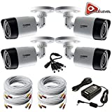 Lorex HD 1080p Weatherproof Night Vision Security Camera - 4 Pack