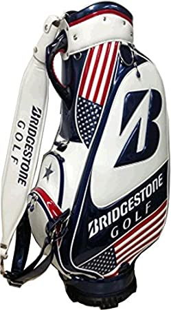 Bridgestone Bolsa de Golf Staff US Open, White/Blue, 48 x 32 ...