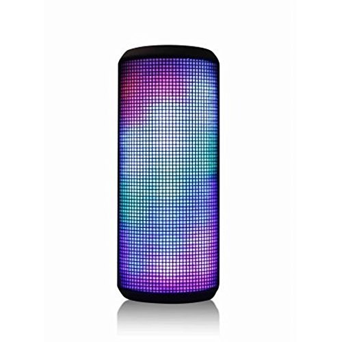 Blackweb Color-Changing Portable Rechargeable Bluetooth Wireless Speaker System with Multi-Colored LED Lights (Non-Retail Packaging) by Blackweb