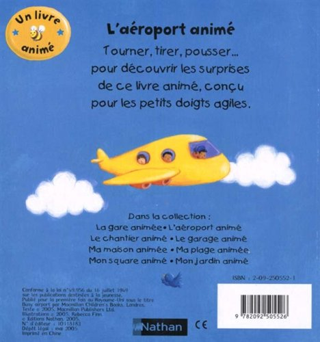 L Aeroport Anime Livre Anime Nathan French Edition