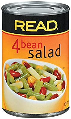Libby's Read, Four Bean Salad Can, 15 Ounce (Pack of 12)