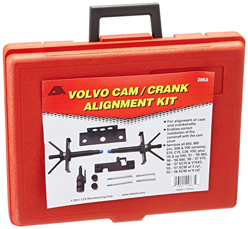 CTA Tools 2863 Cam and Crank Alignment Kit for Volvo by CTA Tools (Image #1)