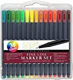 Studio Series Fine-Line Marker Set (30 colors, 0.4mm tip)