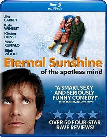 Eternal Sunshine Of The Spotless Mind Blu Ray Jim Carrey Kate Winslet Kirsten Dunst Mark Ruffalo Elijah Wood Tom Wilkinson Movies Tv