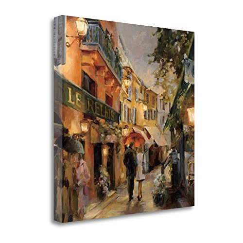 """""""Evening In Paris"""" By Marilyn Hageman, Fine Art Giclee Print on Gallery Wrap Canvas, Ready to Hang from Tangletown Fine Art"""
