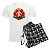 CafePress HIMYM Naked Man Unisex Novelty Cotton Pajama Set, Comfortable PJ Sleepwear
