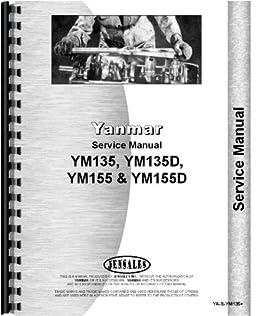 amazon com yanmar ym155d tractor service manual 0739718140851 rh amazon com yanmar 155d repair manual Tractor Yanmar YM155