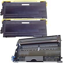 (1 Drum + 2 Toner) Inktoneram® Replacement toner cartridges & drum for Brother TN350 DR350 Toner Cartridges & Drum replacement for Brother DR-350 TN-350 Set IntelliFax 2820 2910 2920 MFC-7220 MFC-7225N MFC-7820N MFC-7420 HL-2030 HL-2040 HL-2070N DCP-7020