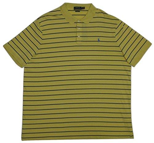 Polo Ralph Lauren Men's Classic-Fit Soft-Touch Polo, India Yellow/Navy, - Lauren Polo India Ralph
