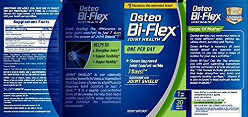 Osteo Bi-Flex One Per Day, 30 Coated Tablets ( Pack of 2)