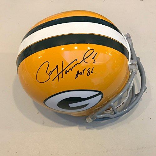 Paul Hornung HOF 1986 Signed Green Bay Packers Full Size Helmet JSA (Paul Hornung Signed Helmet)