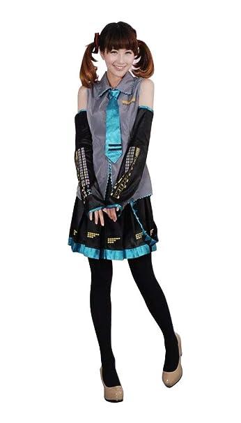 Agaruu Vocaloid Hatsune Miku - Disfraz Completo de Marinero ...