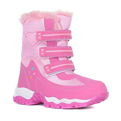 ALPINE Girls' Fur Snow Boots
