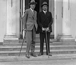 1924 photo Geoffrey Dawson & Willmott Lewis at W.H., 10/18/24 Vintage Black & a4