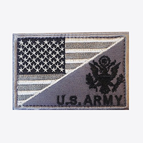 Tactical Patch - American Flag / US ARMY Hybrid Morale Patch (Us Army Corps Patch)