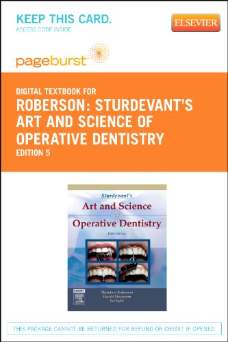 Sturdevant's Art and Science of Operative Dentistry - Elsevier Digital Book (Retail Access Card), 5e