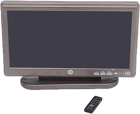 LIOOBO 1:12 Televisión en Miniatura Casa de muñecas Televisor LED TV Pretender Jugar Juguetes: Amazon.es: Deportes y aire libre