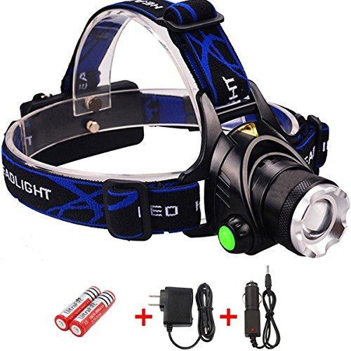 Waterproof 1600 Lumens CREE XM-L T6 3 Modes Adjustable Headlamp - 2