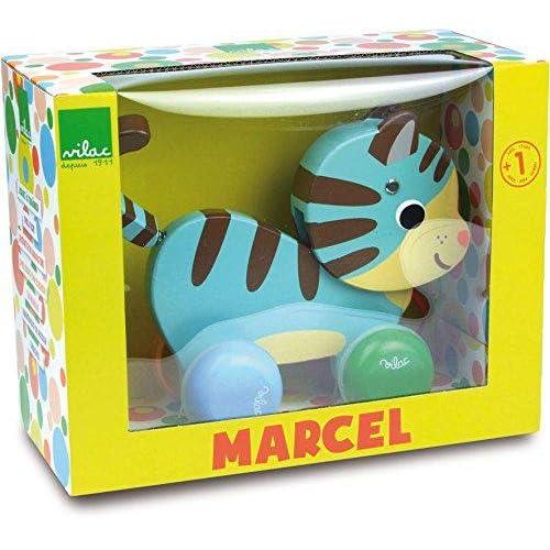 Marcel le chat jouet à tirer Vilac