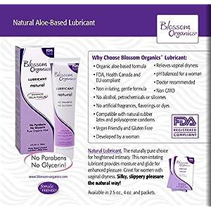 Blossom Organics Natural Moisturizing Lubricant, 4 Fluid Ounce