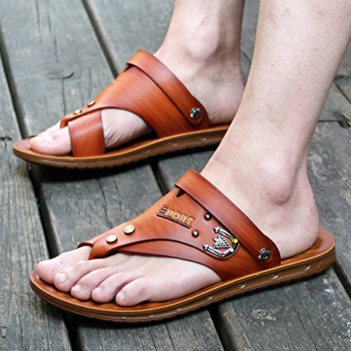 estate uomo sandali 39901 39 ZHANGJIA marrone 4WZqd8qw