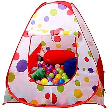 EocuSun Children Kids Play Tent Tents House Pop Up Outdoor Indoor Ball Pit Baby Beach Tent  sc 1 st  Amazon.com & Amazon.com : EocuSun Children Kids Play Tent Tents House Pop Up ...