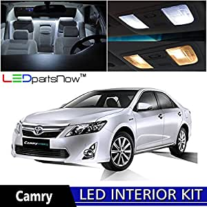 ledpartsnow 2012 2014 toyota camry w sunroof led interior lights accessories. Black Bedroom Furniture Sets. Home Design Ideas