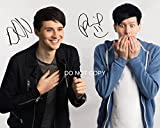 #8: Dan and Phil Reprint Signed 11x14