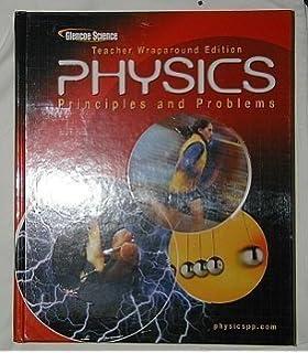 Amazon glencoe physics principles problems student edition physics principles and problems teachers wraparound edition fandeluxe Image collections