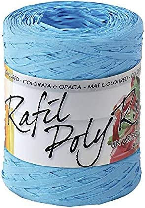 Bolis Pack cinta Raphia Syntetic 200 Mt Azul 25 Bolis: Amazon.es ...