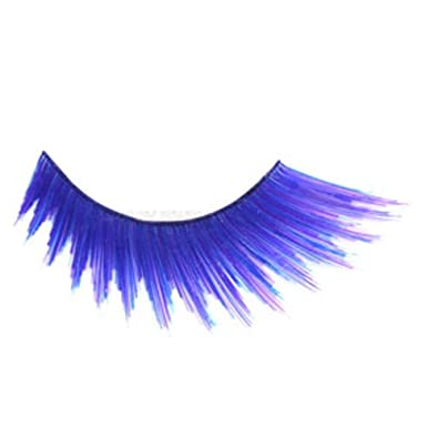 35855242c9d BodyJewelleryShop False Eyelashes - Zig Zag Purple: BodyJewelleryShop:  Amazon.co.uk: Jewellery