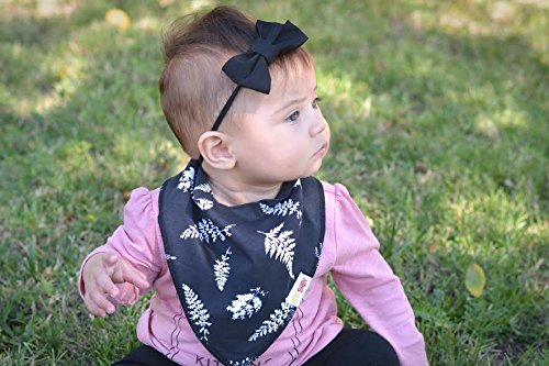 Baby Bandana Drool Bibs for Drooling and Teething 4 Pack Gift Set For Boys and Girls Organic Cotton From Hny Baby